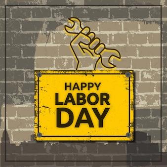 Conception de la fête du travail internationale