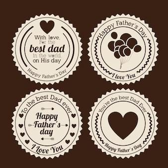 Conception de la fête des pères