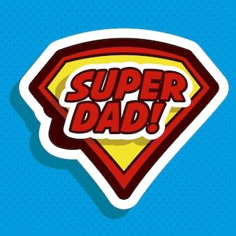 Conception de fête des pères