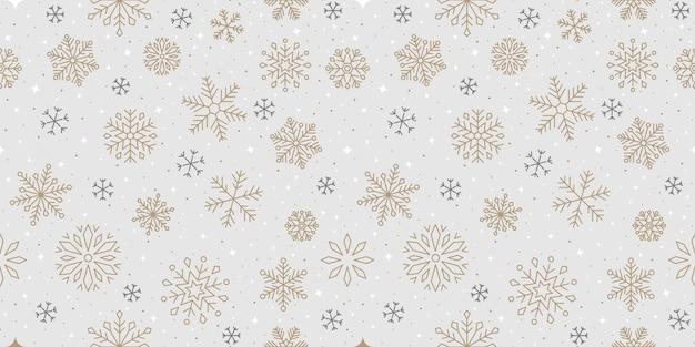 Conception de flocon de neige, neige, noël, modèle, vacances