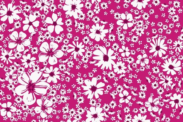 Conception florale d'impression de mode sans couture pour la robe