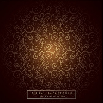 Conception florale prime de fond