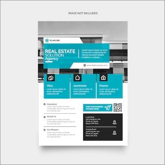 Conception de flyer d'entreprise marketing coloré moderne