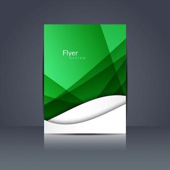 Fond vert onde vecteurs et photos gratuites for Flyer espace vert