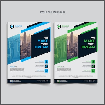 Conception de flyers commerciaux
