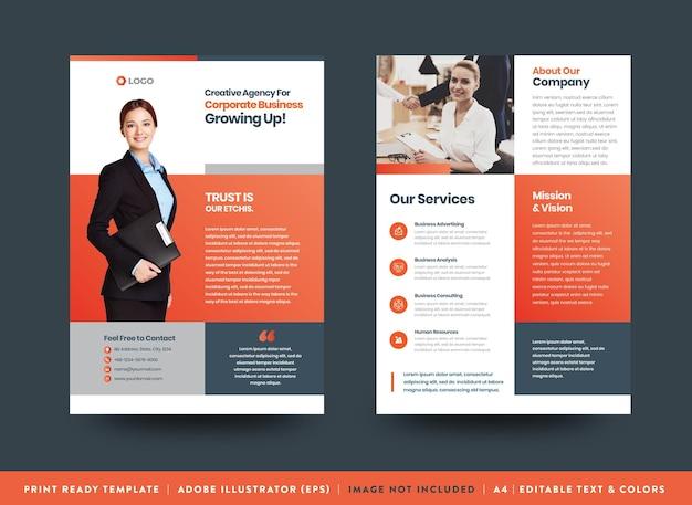 Conception de flyers d'entreprise