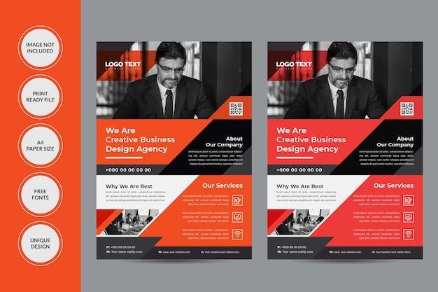 Conception de flyers de services aux entreprises