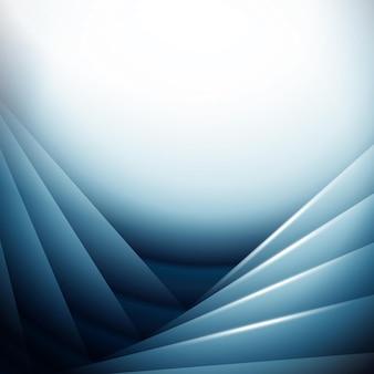 Conception de fond abstrait à l'aide de teintes de bleu