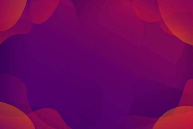 Conception de fond abstrait dégradé jaune rouge violet