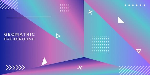 Conception de fond abstrait géomatique
