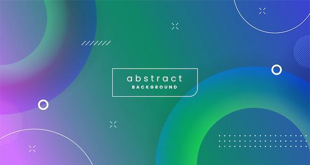 Conception de fond abstrait géométrique moderne coloré