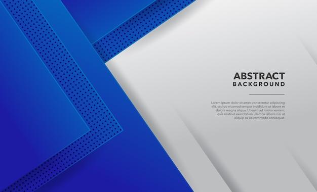 Conception de fond abstrait moderne blanc bleu