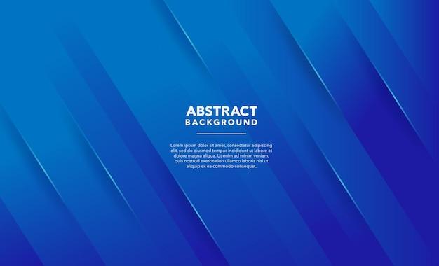 Conception de fond abstrait moderne bleu