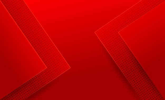 Conception de fond abstrait moderne rouge