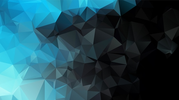 Conception de fond abstrait polygone