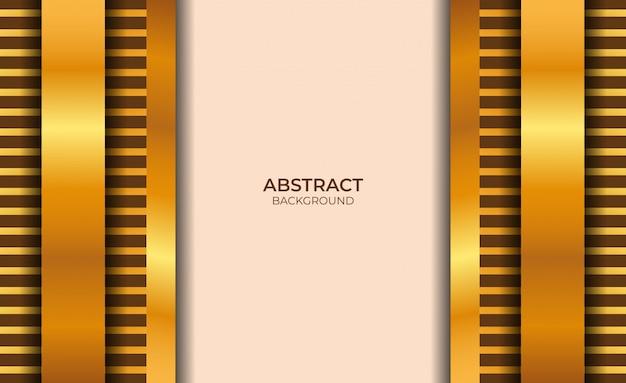 Conception de fond abstrait rose clair et or