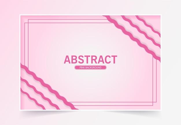 Conception de fond abstrait rose
