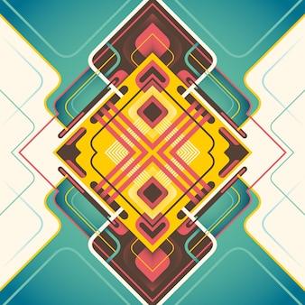 Conception de fond abstrait