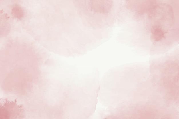 Conception de fond aquarelle peinte à la main rose
