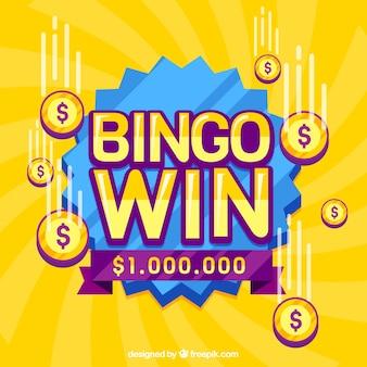 Conception de fond de bingo