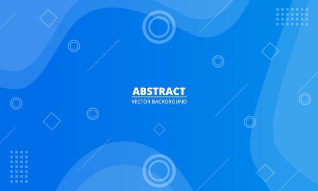 Conception de fond bleu diagonal abstrait géométrique