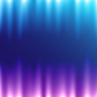 Conception de fond bleu iluminated
