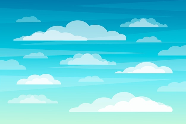 Conception de fond de ciel