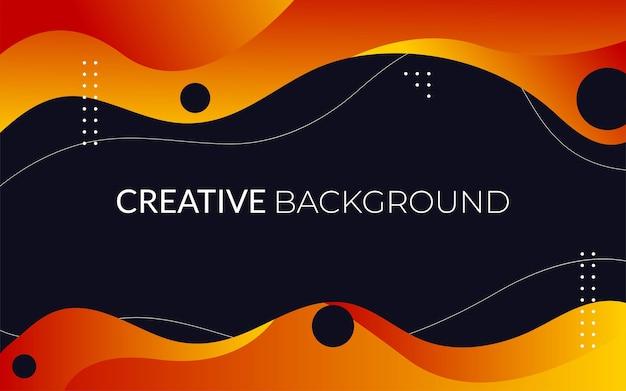 Conception de fond créatif abstrait