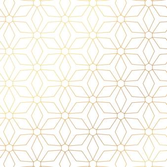 Conception de fond élégant motif doré