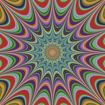 Conception de fond fractale