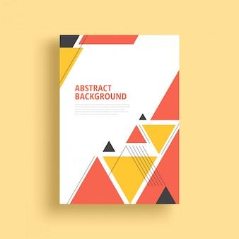 Conception de fond géométrique abstrait