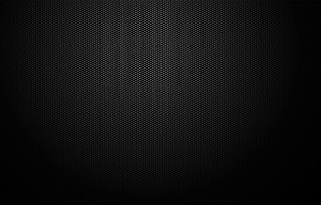 Conception de fond de grille géométrique noir foncé