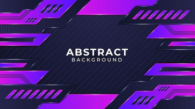Conception de fond de jeu futuriste de technologie abstraite moderne