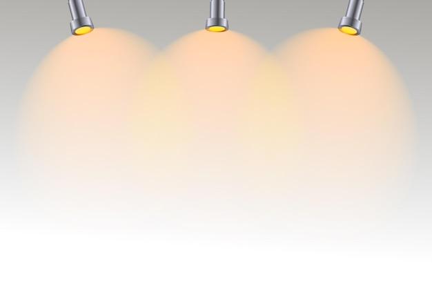 Conception de fond de lumières spot