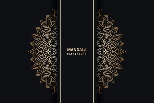 Conception de fond de luxe mandala