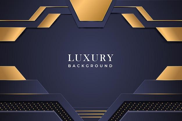 Conception de fond de luxe vecteur premium