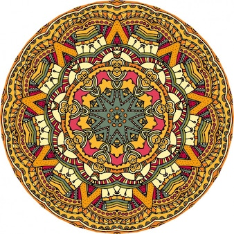 Conception de fond mandala