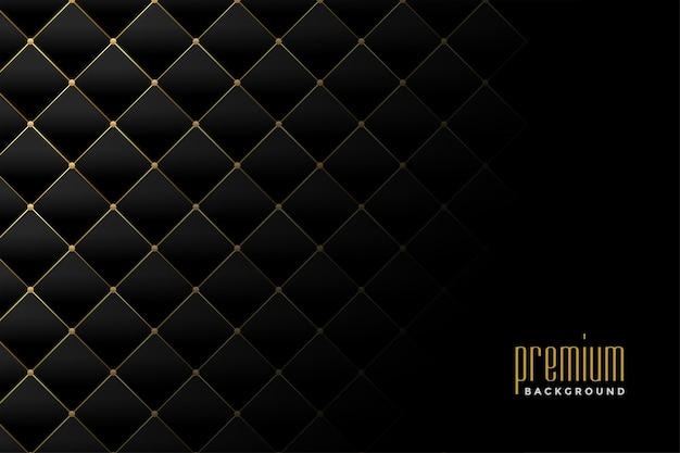Conception de fond de motif de diamant de luxe doré de rembourrage