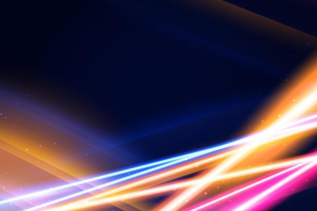 Conception de fond néon