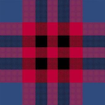 Conception de fond de pixel. plaid sans couture moderne. tissu à texture carrée. textile écossais tartan. ornement de madras de couleur de beauté.