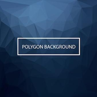 Conception de fond polygonale coloré