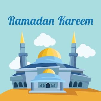 Conception de fond ramadan