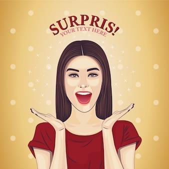 Conception de fond surprise