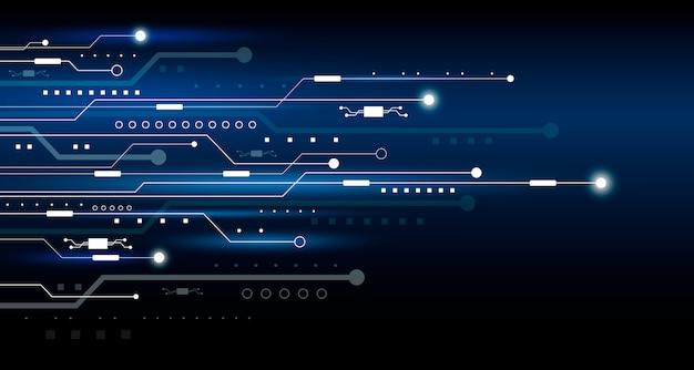 Conception de fond de technologie abstraite