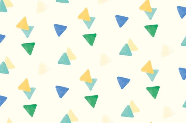 Conception de fond transparente motif géométrique coloré