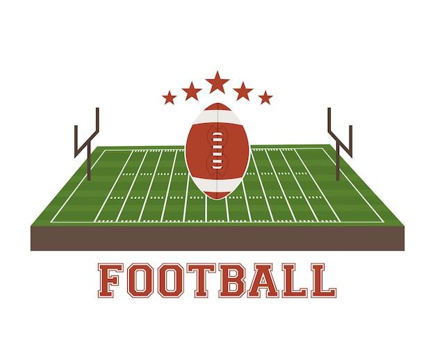 Conception de football américain