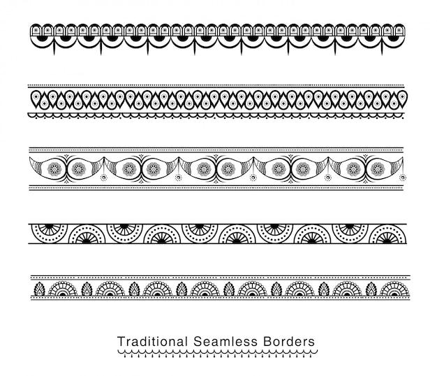 Conception de frontières sans soudure