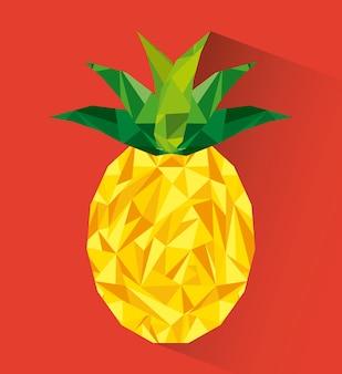 Conception de fruits abstraites, illustration vectorielle eps10 graphique