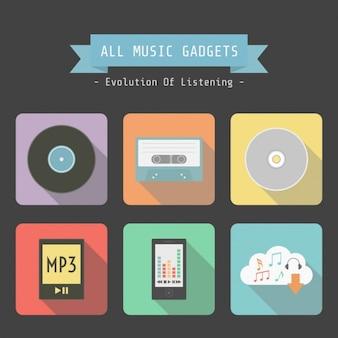 Conception de gadgets de musique