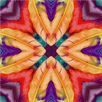Conception géométrique abstraite de fond transparent